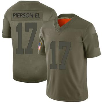 Youth Nike Las Vegas Raiders De'Mornay Pierson-El Camo 2019 Salute to Service Jersey - Limited