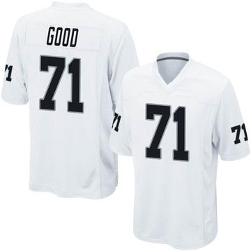 Youth Nike Las Vegas Raiders Denzelle Good White Jersey - Game