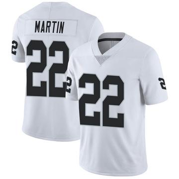 Youth Nike Las Vegas Raiders Doug Martin White Vapor Untouchable Jersey - Limited