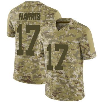 Youth Nike Las Vegas Raiders Dwayne Harris Camo 2018 Salute to Service Jersey - Limited