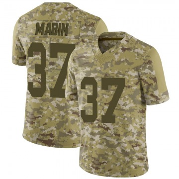 Youth Nike Las Vegas Raiders Dylan Mabin Camo 2018 Salute to Service Jersey - Limited