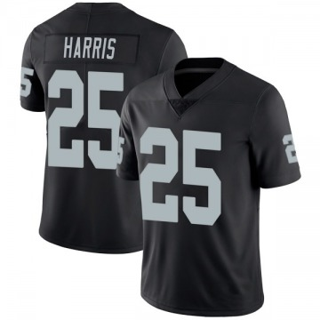 Youth Nike Las Vegas Raiders Erik Harris Black Team Color Vapor Untouchable Jersey - Limited