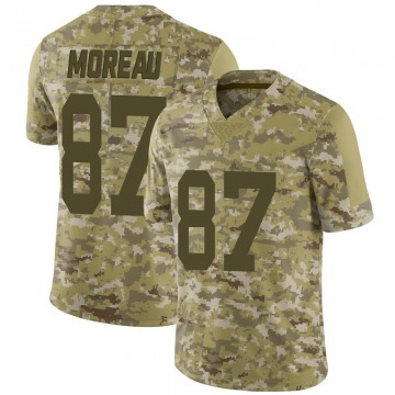 Youth Nike Las Vegas Raiders Foster Moreau Camo 2018 Salute to Service Jersey - Limited