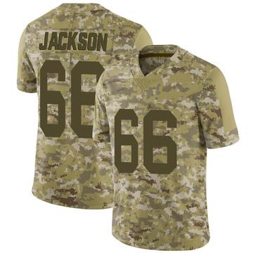 Youth Nike Las Vegas Raiders Gabe Jackson Camo 2018 Salute to Service Jersey - Limited