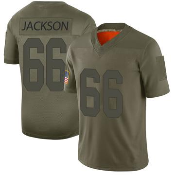 Youth Nike Las Vegas Raiders Gabe Jackson Camo 2019 Salute to Service Jersey - Limited