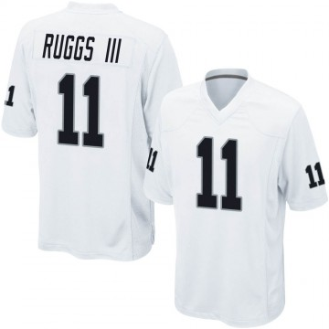 Youth Nike Las Vegas Raiders Henry Ruggs III White Jersey - Game