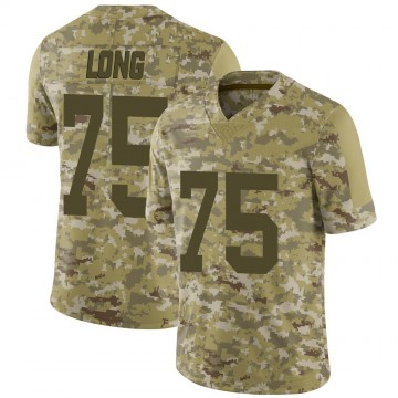 Youth Nike Las Vegas Raiders Howie Long Camo 2018 Salute to Service Jersey - Limited
