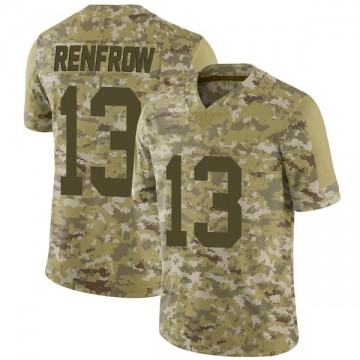 Youth Nike Las Vegas Raiders Hunter Renfrow Camo 2018 Salute to Service Jersey - Limited