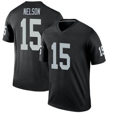 Youth Nike Las Vegas Raiders J.J. Nelson Black Jersey - Legend