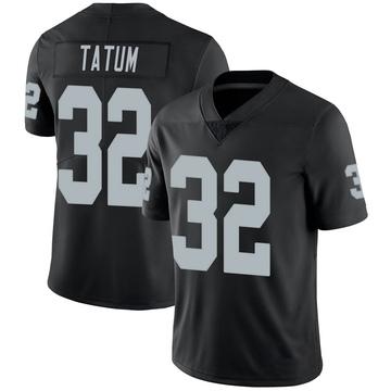 Youth Nike Las Vegas Raiders Jack Tatum Black 100th Vapor Jersey - Limited