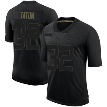 Youth Nike Las Vegas Raiders Jack Tatum Black 2020 Salute To Service Jersey - Limited