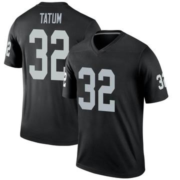 Youth Nike Las Vegas Raiders Jack Tatum Black Jersey - Legend