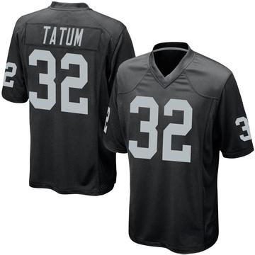 Youth Nike Las Vegas Raiders Jack Tatum Black Team Color Jersey - Game
