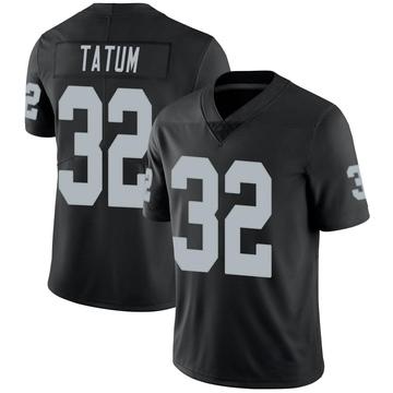 Youth Nike Las Vegas Raiders Jack Tatum Black Team Color Vapor Untouchable Jersey - Limited