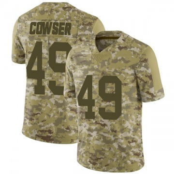 Youth Nike Las Vegas Raiders James Cowser Camo 2018 Salute to Service Jersey - Limited