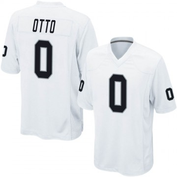 Youth Nike Las Vegas Raiders Jim Otto White Jersey - Game