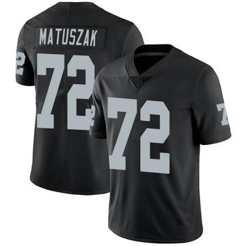 Youth Nike Las Vegas Raiders John Matuszak Black 100th Vapor Jersey - Limited