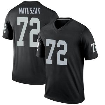 Youth Nike Las Vegas Raiders John Matuszak Black Jersey - Legend