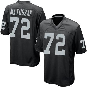 Youth Nike Las Vegas Raiders John Matuszak Black Team Color Jersey - Game