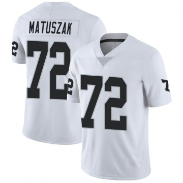 Youth Nike Las Vegas Raiders John Matuszak White Vapor Untouchable Jersey - Limited