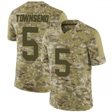 Youth Nike Las Vegas Raiders Johnny Townsend Camo 2018 Salute to Service Jersey - Limited
