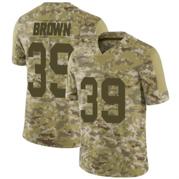 Youth Nike Las Vegas Raiders Jordan Brown Brown Camo 2018 Salute to Service Jersey - Limited