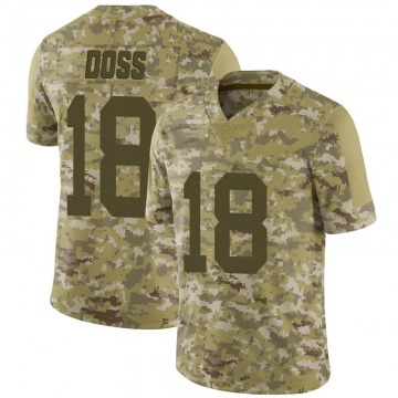 Youth Nike Las Vegas Raiders Keelan Doss Camo 2018 Salute to Service Jersey - Limited