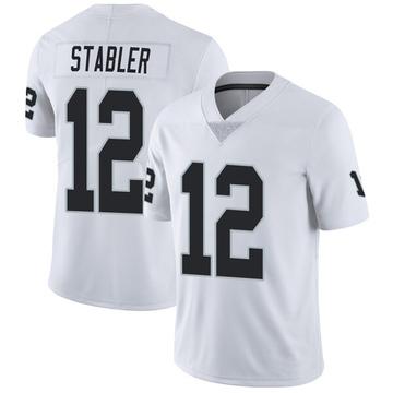 Youth Nike Las Vegas Raiders Ken Stabler White Vapor Untouchable Jersey - Limited