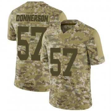 Youth Nike Las Vegas Raiders Kendall Donnerson Camo 2018 Salute to Service Jersey - Limited