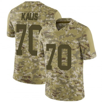 Youth Nike Las Vegas Raiders Kyle Kalis Camo 2018 Salute to Service Jersey - Limited