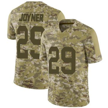 Youth Nike Las Vegas Raiders Lamarcus Joyner Camo 2018 Salute to Service Jersey - Limited