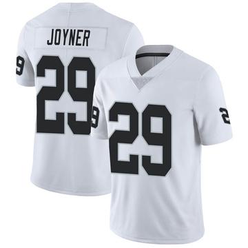 Youth Nike Las Vegas Raiders Lamarcus Joyner White Vapor Untouchable Jersey - Limited