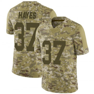 Youth Nike Las Vegas Raiders Lester Hayes Camo 2018 Salute to Service Jersey - Limited