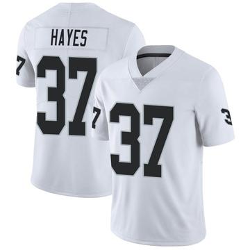 Youth Nike Las Vegas Raiders Lester Hayes White Vapor Untouchable Jersey - Limited