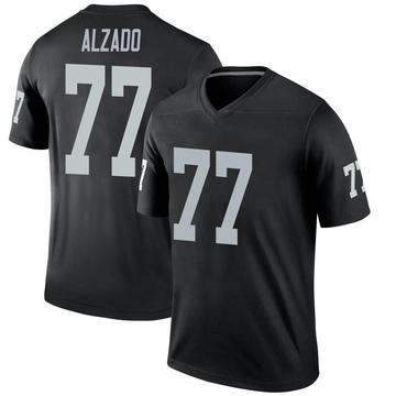 Youth Nike Las Vegas Raiders Lyle Alzado Black Jersey - Legend