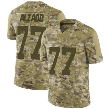 Youth Nike Las Vegas Raiders Lyle Alzado Camo 2018 Salute to Service Jersey - Limited