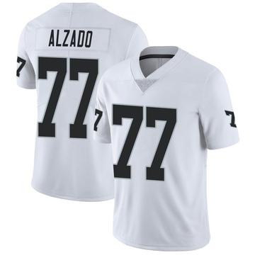 Youth Nike Las Vegas Raiders Lyle Alzado White Vapor Untouchable Jersey - Limited