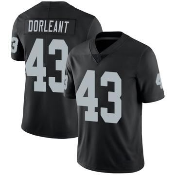 Youth Nike Las Vegas Raiders Makinton Dorleant Black 100th Vapor Jersey - Limited