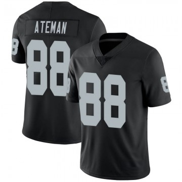 Youth Nike Las Vegas Raiders Marcell Ateman Black 100th Vapor Jersey - Limited
