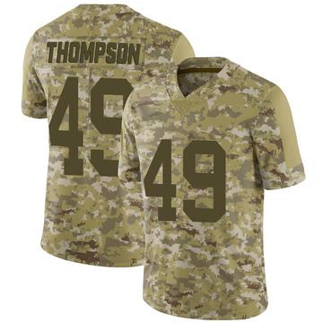 Youth Nike Las Vegas Raiders Mark Thompson Camo 2018 Salute to Service Jersey - Limited