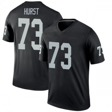 Youth Nike Las Vegas Raiders Maurice Hurst Black Jersey - Legend