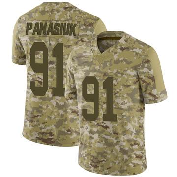 Youth Nike Las Vegas Raiders Mike Panasiuk Camo 2018 Salute to Service Jersey - Limited