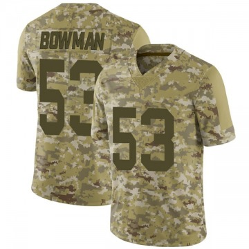 Youth Nike Las Vegas Raiders NaVorro Bowman Camo 2018 Salute to Service Jersey - Limited
