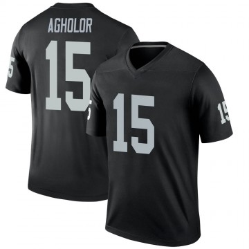 Youth Nike Las Vegas Raiders Nelson Agholor Black Jersey - Legend