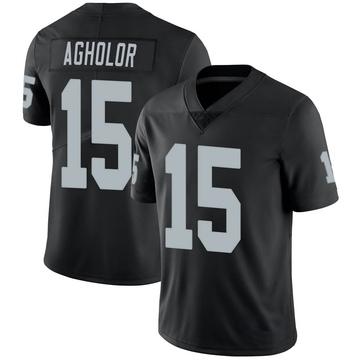 Youth Nike Las Vegas Raiders Nelson Agholor Black Team Color Vapor Untouchable Jersey - Limited