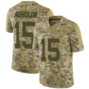 Youth Nike Las Vegas Raiders Nelson Agholor Camo 2018 Salute to Service Jersey - Limited