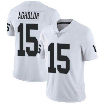 Youth Nike Las Vegas Raiders Nelson Agholor White Vapor Untouchable Jersey - Limited