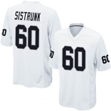 Youth Nike Las Vegas Raiders Otis Sistrunk White Jersey - Game