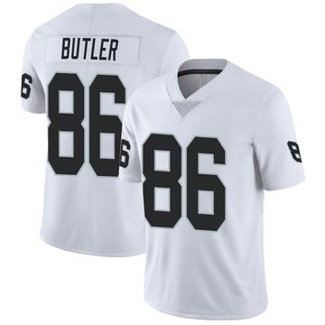 Youth Nike Las Vegas Raiders Paul Butler White Vapor Untouchable Jersey - Limited