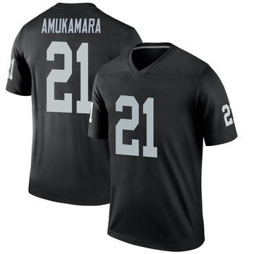 Youth Nike Las Vegas Raiders Prince Amukamara Black Jersey - Legend